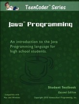 TeenCoder: Java Programming Course, Student Textbook and CDROM, 2nd Edition
