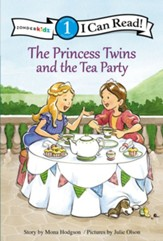The Princess Twins and the Tea Party, hardcover