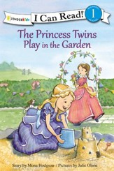 The Princess Twins Play in the Garden, hardcover