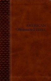 NKJV American Woman's Bible--bonded leather, brown