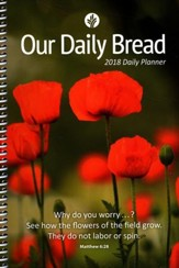 Our Daily Bread--2018 Engagement Planner