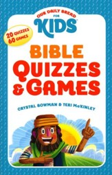 Our Daily Bread For Kids Bible, Quizzes and Games