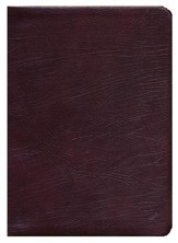 ESV Thompson Chain-Reference Bible, Burgundy Genuine Leather