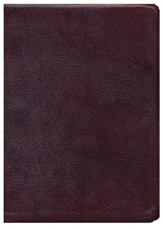 ESV Thompson Chain-Reference Bible, Burgundy Genuine Leather, Indexed - Slightly Imperfect