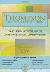 ESV Thompson Chain-Reference Bible, Softcover