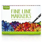 Fine Line Markers for Adult Coloring, 40 Pack