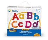 Magnetic Uppercase & Lowercase Letters, 82 Pieces