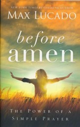 Before Amen Paperback - Slightly Imperfect