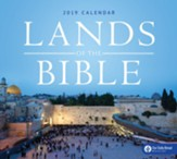 2019 Lands of the Bible Wall Calendar