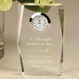 Personalized, Beautiful Moment Wedding Clock