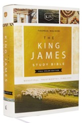 KJV Study Bible Full-Color Edition, Hardcover