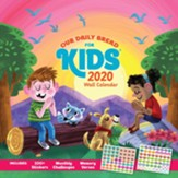 Our Daily Bread, for Kids 2020 Wall Calendar