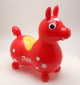 Rody Inflatable Hopping Horse, Red