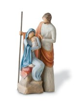 Willow Tree ® The Holy Family Nativity Is Born