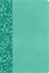 NKJV Gift Bible, Imitation Leather Turquoise  - Slightly Imperfect