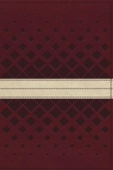 NKJV Unapologetic Study Bible, Imitation Leather, Red and Tan, Indexed