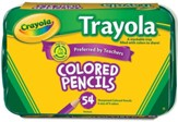Crayola, Colored Pencil Tray Pack, 54 Pieces