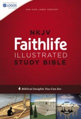 NKJV Faithlife Illustrated Study Bible, hardcover