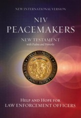 NIV Peacemakers New Testament with Psalms and Proverbs, Paperback