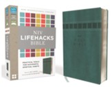 NIV Lifehacks Bible, Imitation Leather, Turquoise