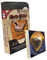 KJV Special Edition Audio Bible with Value Pack Bonus: MP3 Bible, Bible in One Hour CD, & Indestructible Book DVD - Slightly Imperfect