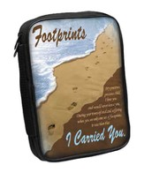 Footprints Bible Cover