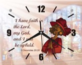 I Have Faith Clock