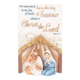 For Unto You, Holy Family Tabletop Plaque