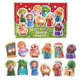 Children's Nativity Vinyl Magnet Set, 12 Pieces