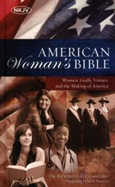 NKJV American Woman's Bible, Hardcover  - Slightly Imperfect