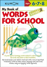 My Book of Words for School, Level 3 (Ages 6-8)