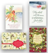 Assorted KJV Christmas Cards, Box of 24
