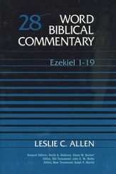 Ezekiel 1-19: Word Biblical Commentary [WBC]