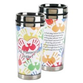 A Mommy's Heart, Hands That Play, Hands That Pray Travel Mug