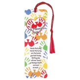 A Mommy's Heart, Hands That Play, Hands That Pray Tassel Bookmark