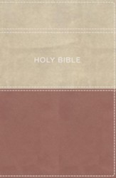 KJV Apply the Word Study Bible, Large Print, Imitation Leather, Pink/Cream, Indexed