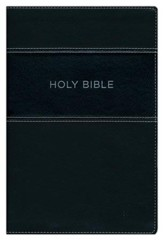 KJV Apply the Word Study Bible, Large Print, Imitation Leather, Black, Indexed