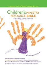 NKJV Children's Ministry Resource Bible, Hardcover