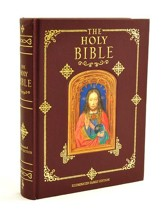 Holy Bible, Illuminated Family Edition  - Slightly Imperfect