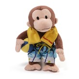 Curious George In Swim Trunks, Plush