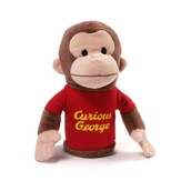 Curious George Plush Puppet