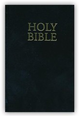 KJV Compact Bible, Black Hardcover