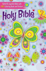 ICB, The Butterfly Sparkle Bible, Hardcover