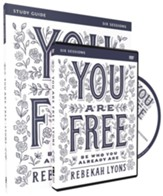 You Are Free Study Guide with DVD: Be Who You Already Are
