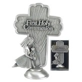 First Holy Communion Tabletop Cross, Girl