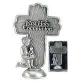 First Holy Communion Tabletop Cross, Boy