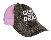 God's Not Dead Cap, Camo, Pink