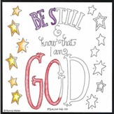 Coloring, Be Still and Know That I Am God, Magnet