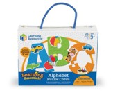 Alphabet Puzzle Cards, 52 Pieces