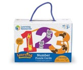 Number Puzzle Cards, 40 Pieces